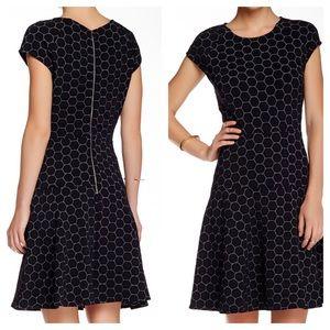 Julia Jordan Rio knit fit & flare dress